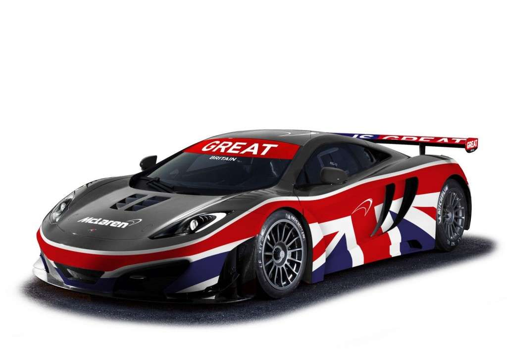 McLaren MP4-12C GT3 Great, anteriore