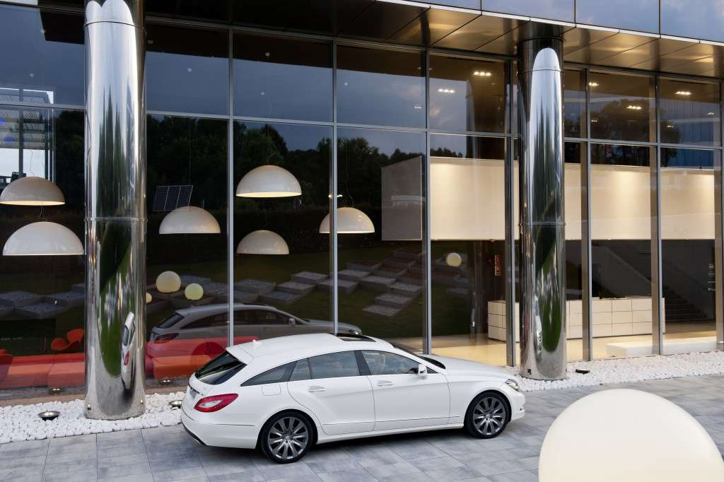 Mercedes CLS Shooting Brake, posteriore (2)