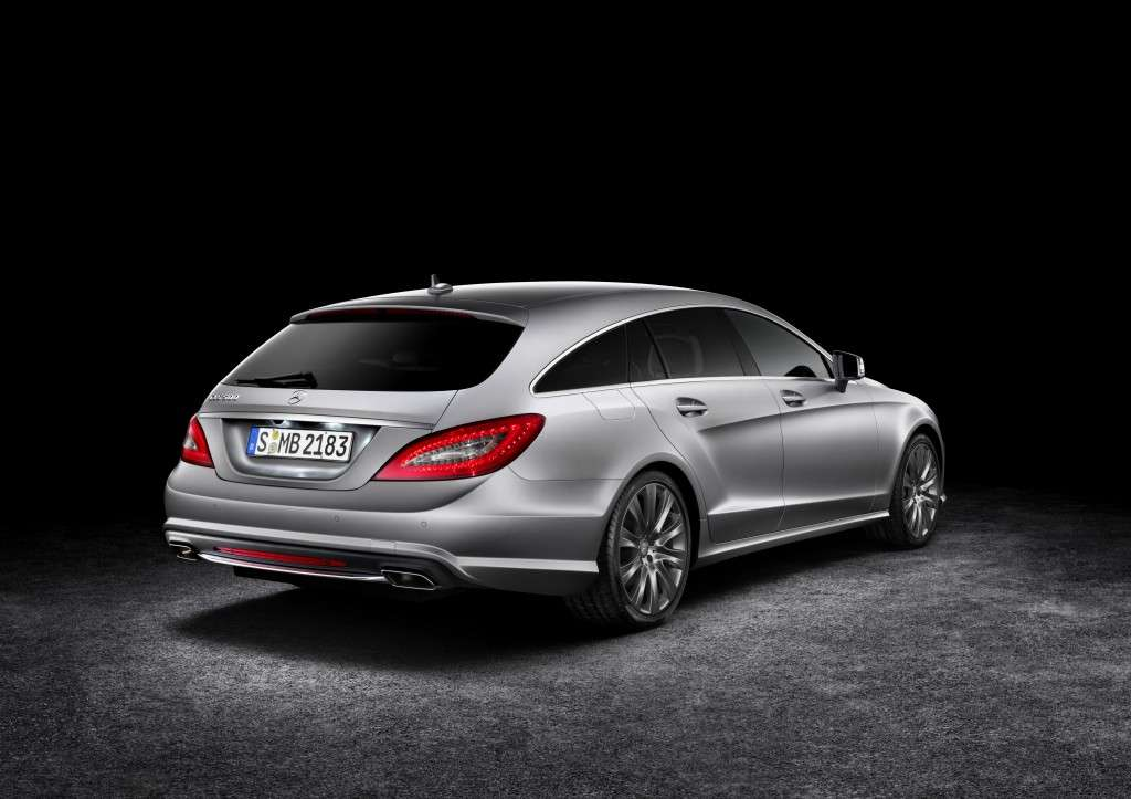 Mercedes CLS Shooting Brake, posteriore