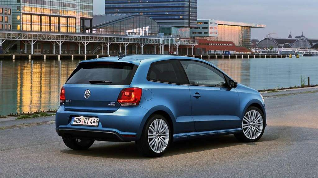 Volkswagen Polo BlueGT - laterale posteriore