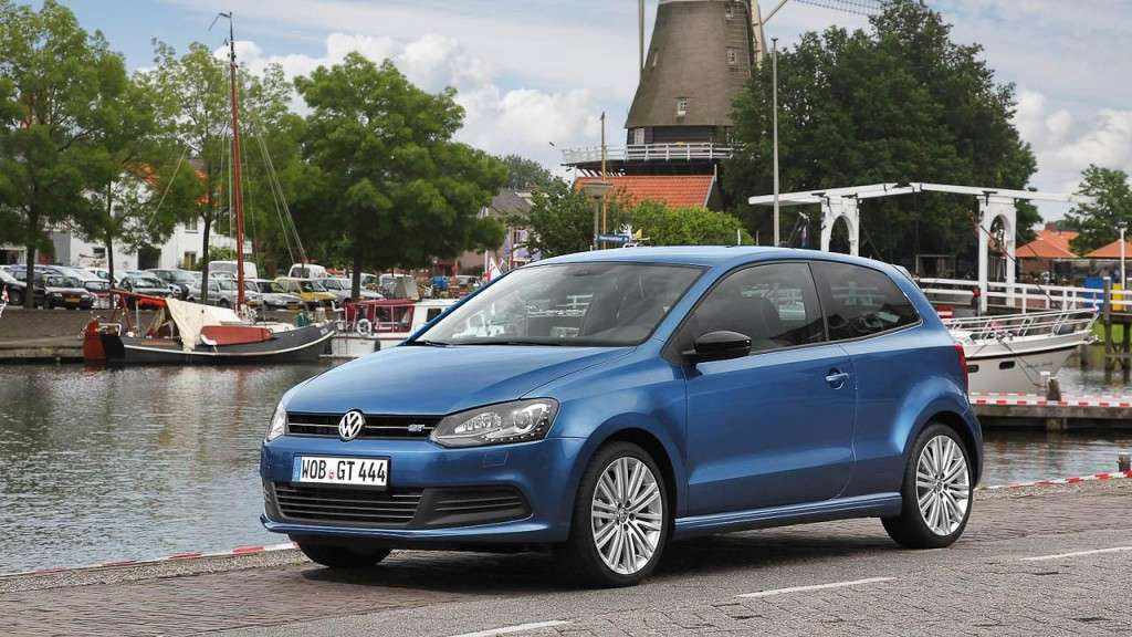 Volkswagen Polo BlueGT - frontale (2)