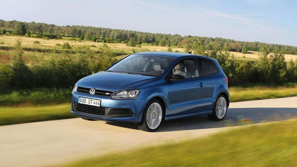 Volkswagen Polo BlueGT - frontale (3)