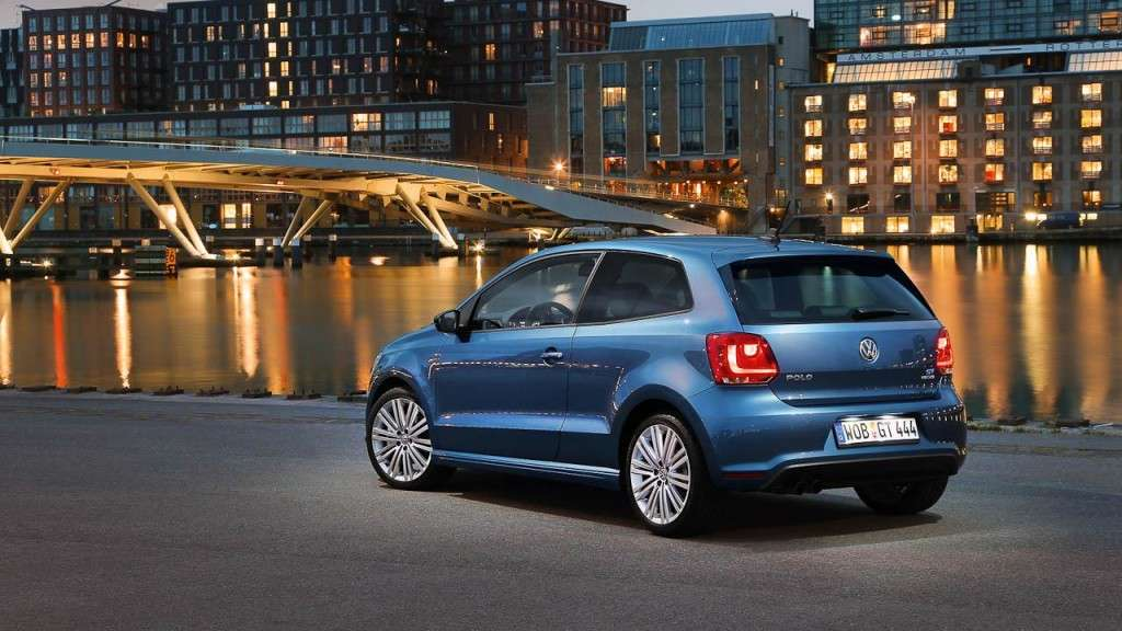 Volkswagen Polo BlueGT - posteriore