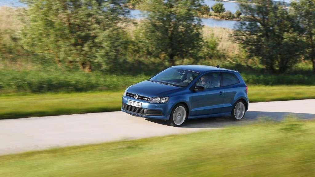 Volkswagen Polo BlueGT - frontale (5)