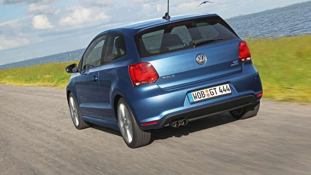 Volkswagen Polo BlueGT - posteriore (2)
