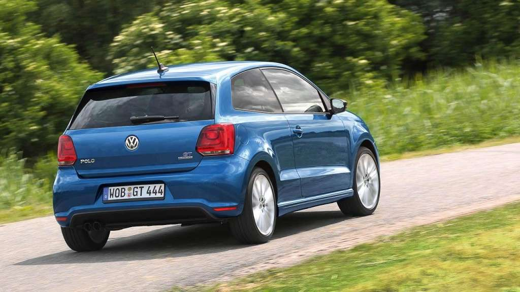 Volkswagen Polo BlueGT - posteriore (4)