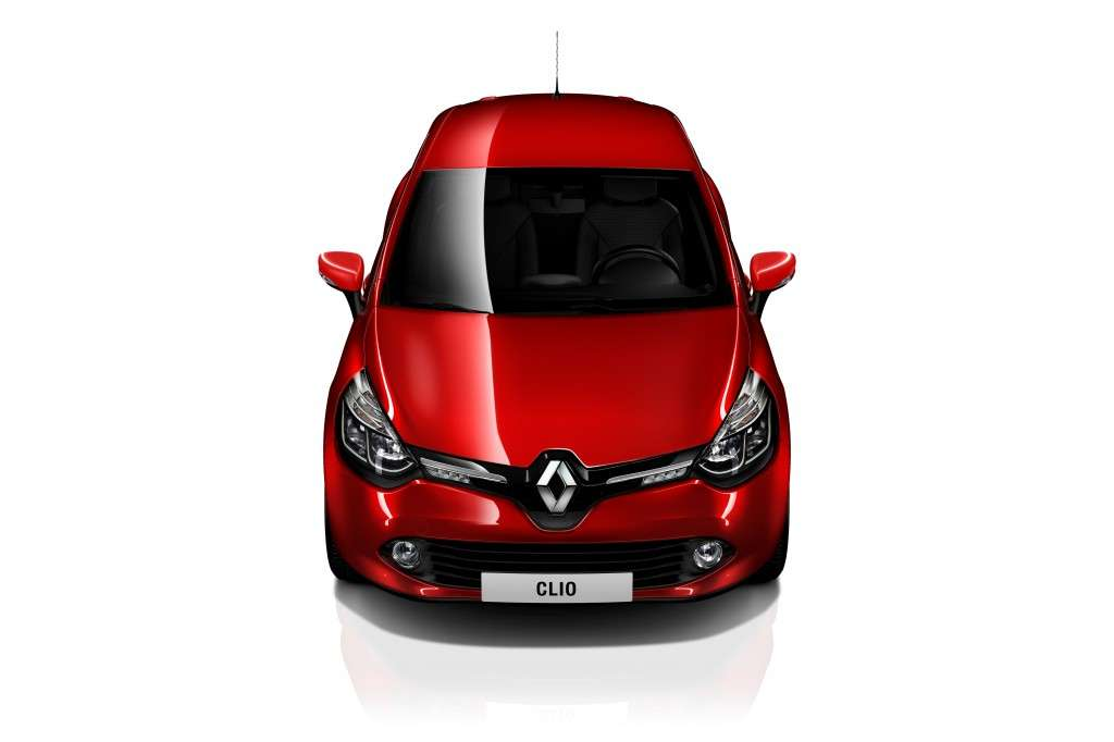 Renault Clio 2012, frontale