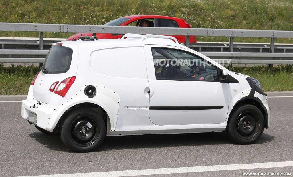 Smart ForFour 2015 foto spia