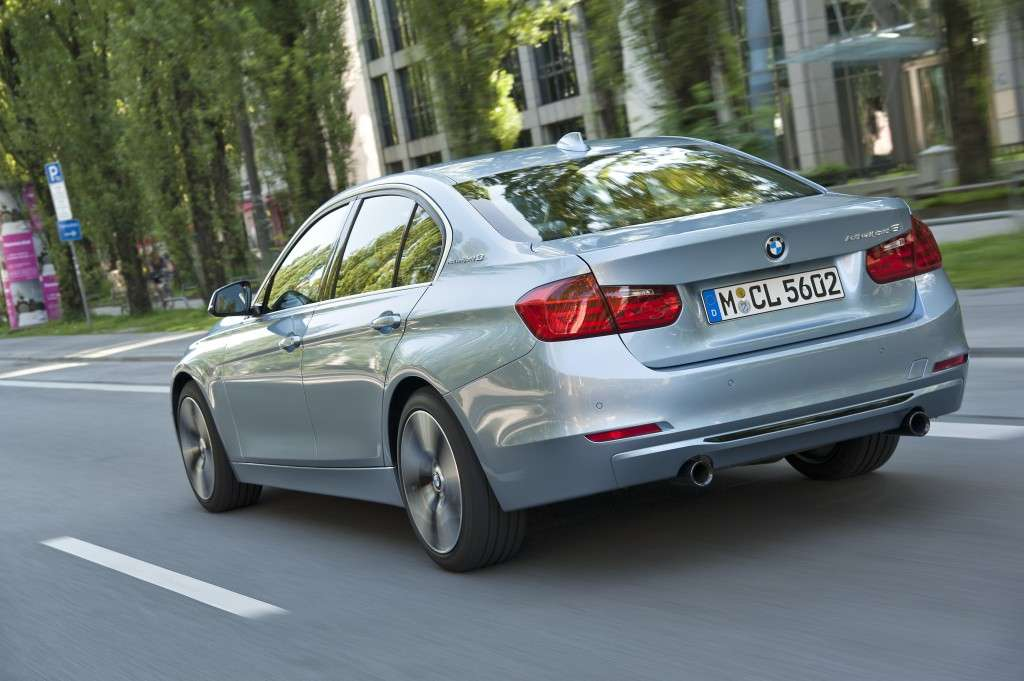 Bmw Active Hybrid 3, coda