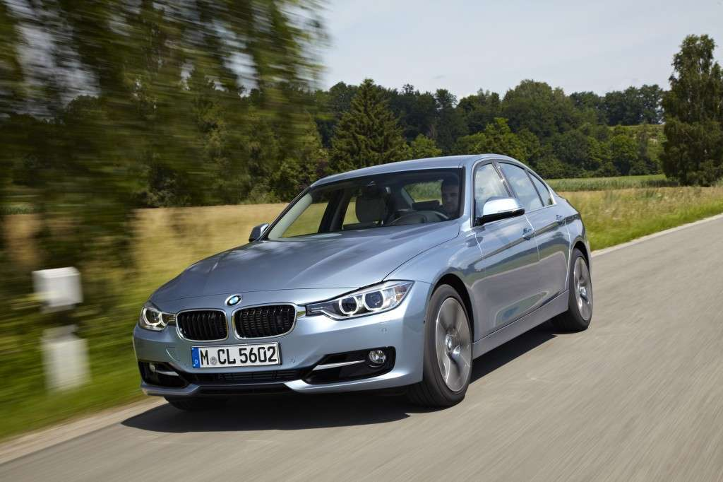 Bmw Active Hybrid 3, frontale (2)