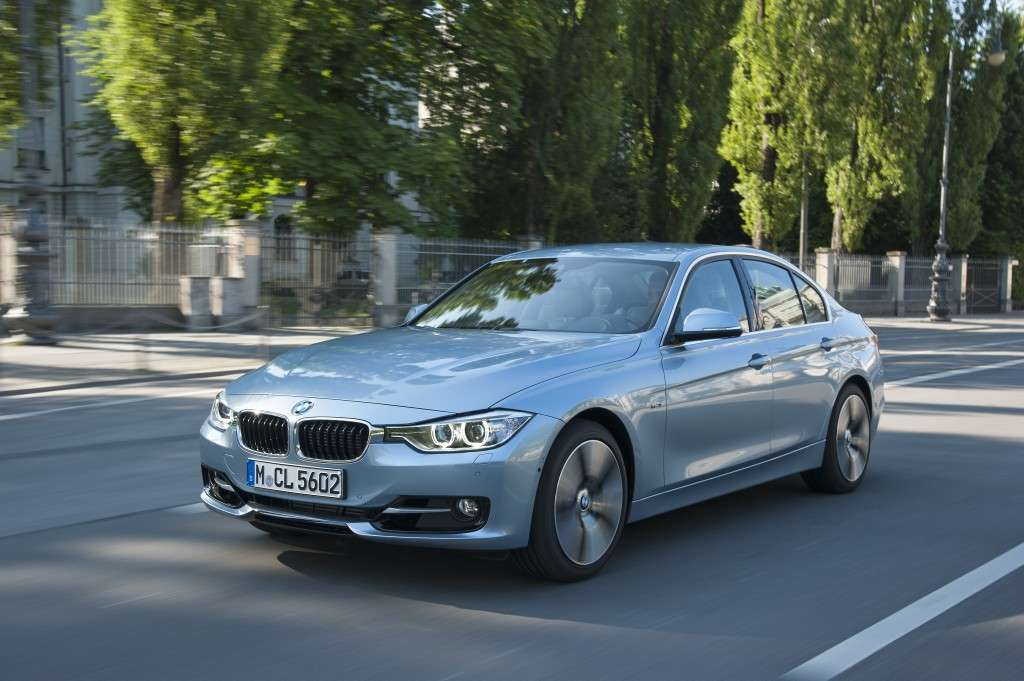 Bmw Active Hybrid 3, frontale