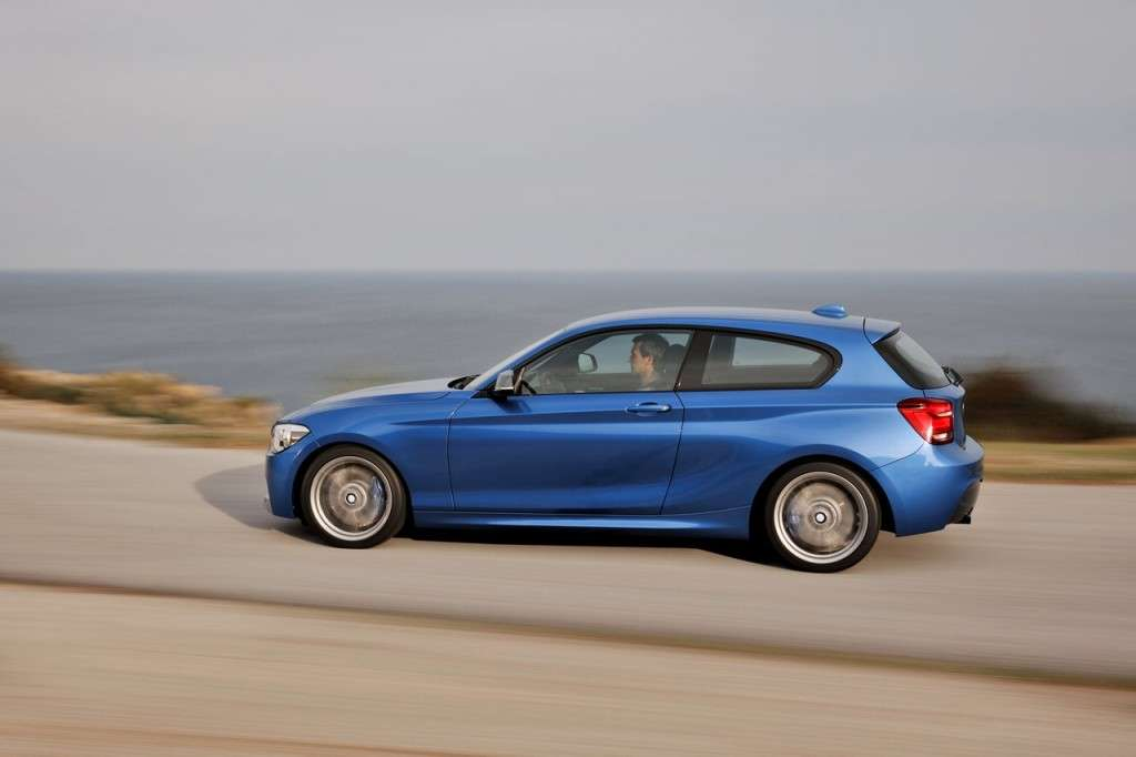BMW M135i laterale