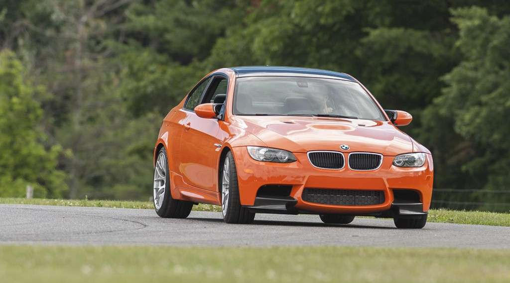 BMW M3 Lime Rock Park - frontale