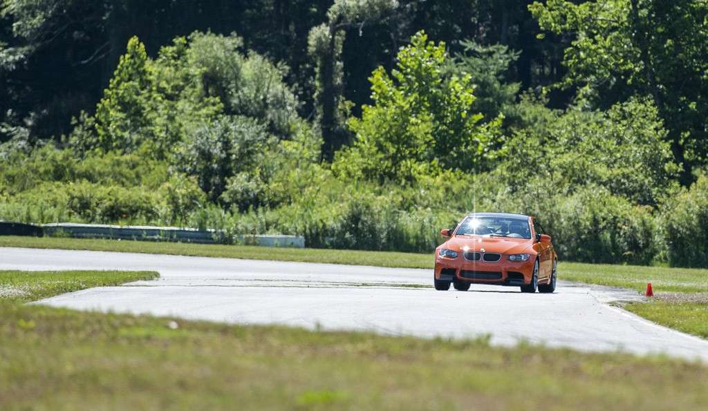 BMW M3 Lime Rock Park - frontale (4)