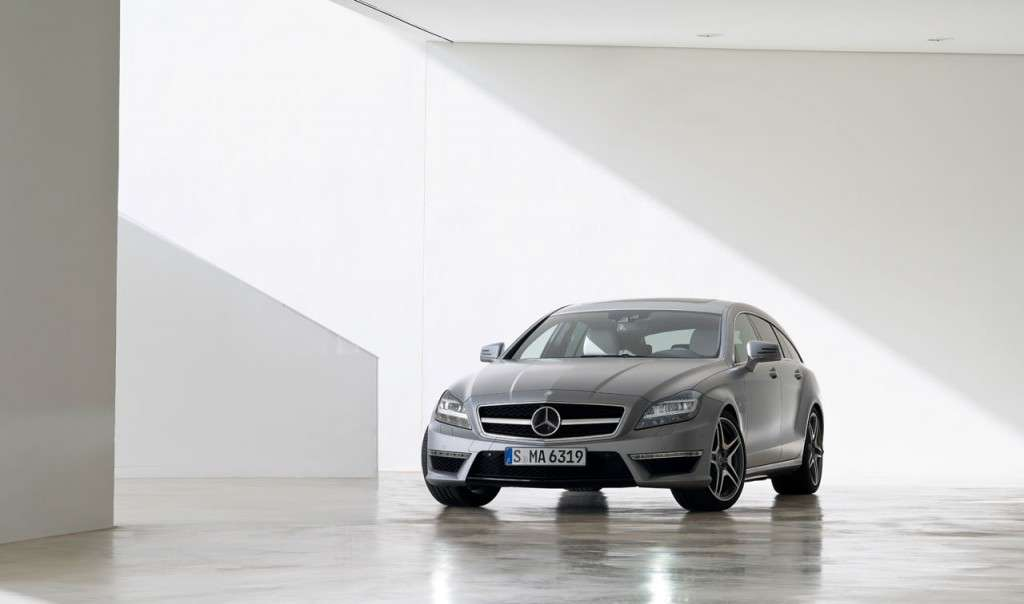Mercedes CLS 63 AMG Shooting Brake muso