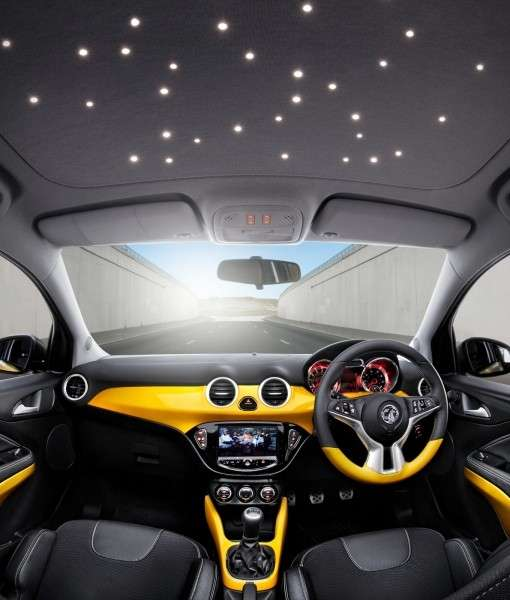 Opel Adam, interni led