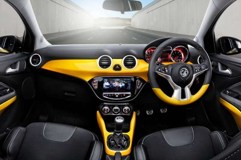 Opel Adam, interni