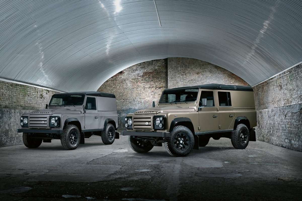 Land Rover Defender XTech - coppia