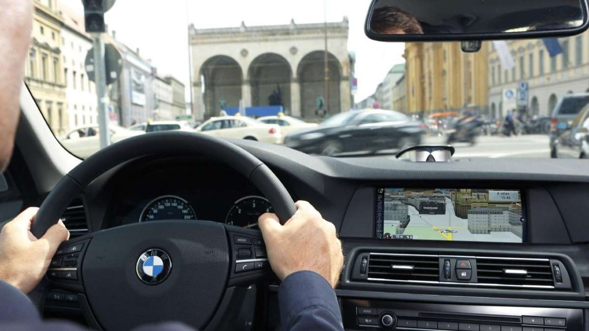 BMW Connected Drive - visuale 3D