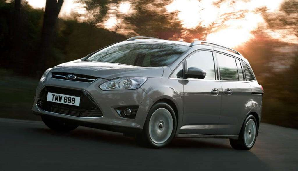 Ford C-Max7 frontale