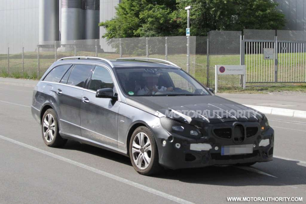 Mercedes Classe E Station Wagon 2013 restyling anteriore