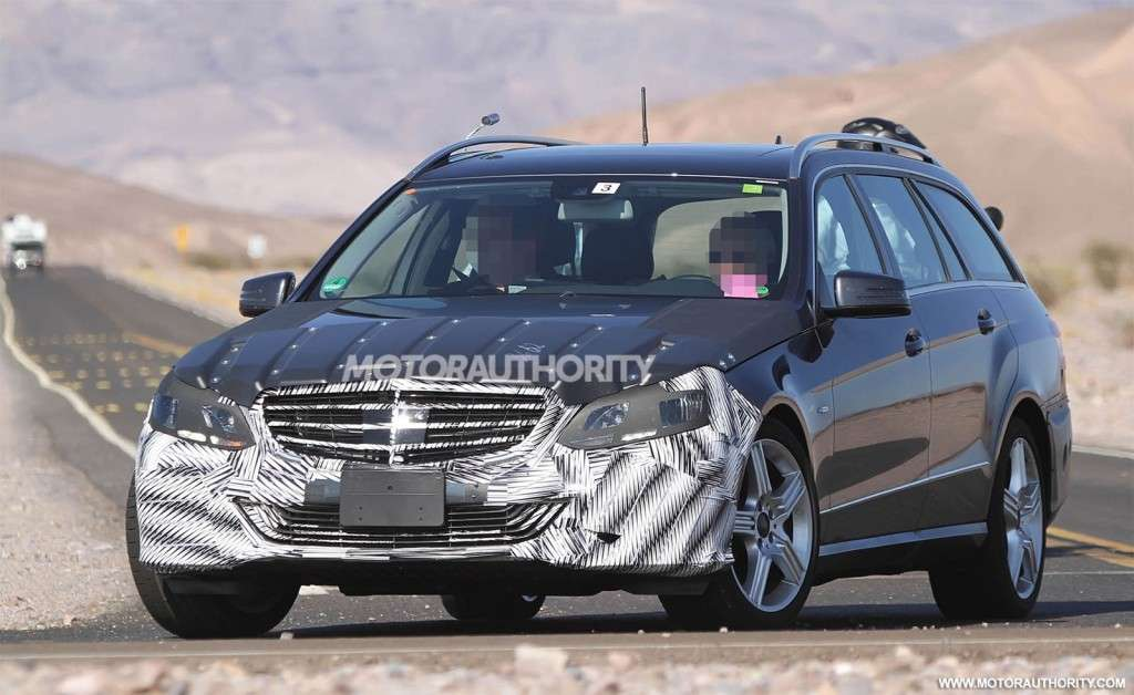 Mercedes Classe E Station Wagon 2013 restyling frontale
