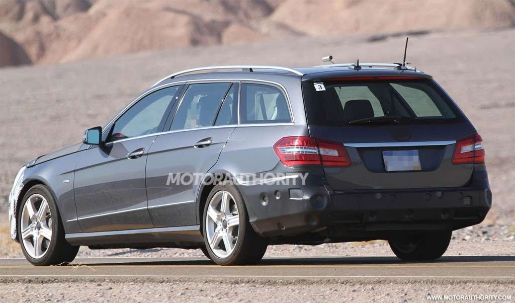 Mercedes Classe E Station Wagon 2013 restyling posteriore