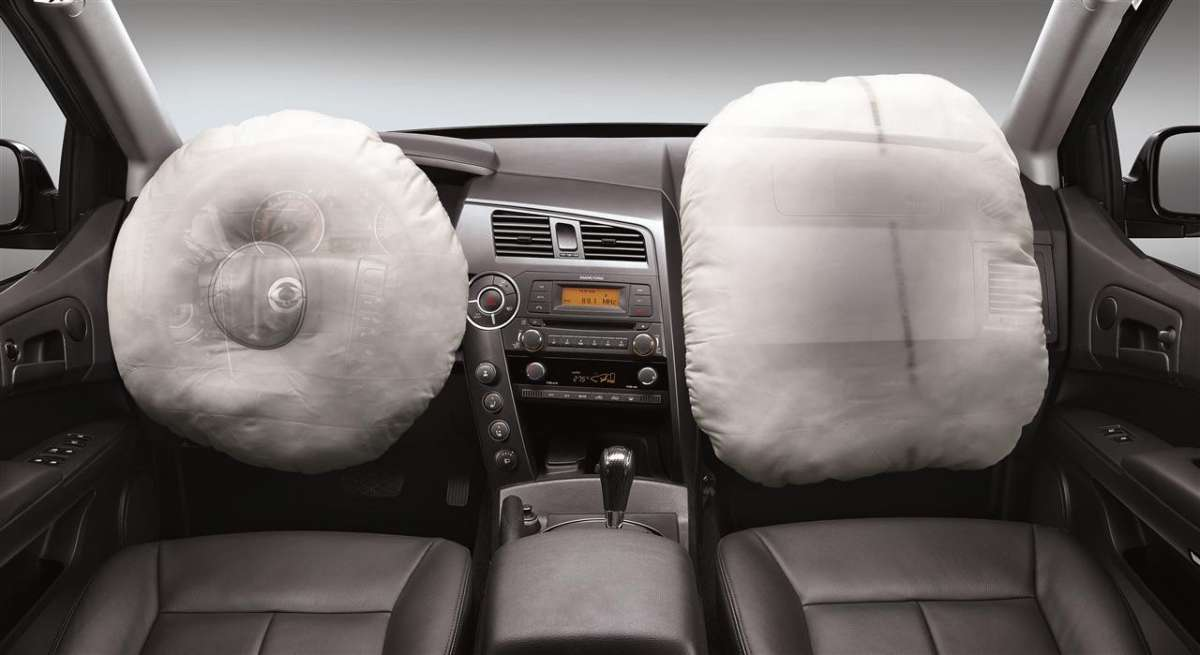 SsangYong Actyon Sports 2012 airbag