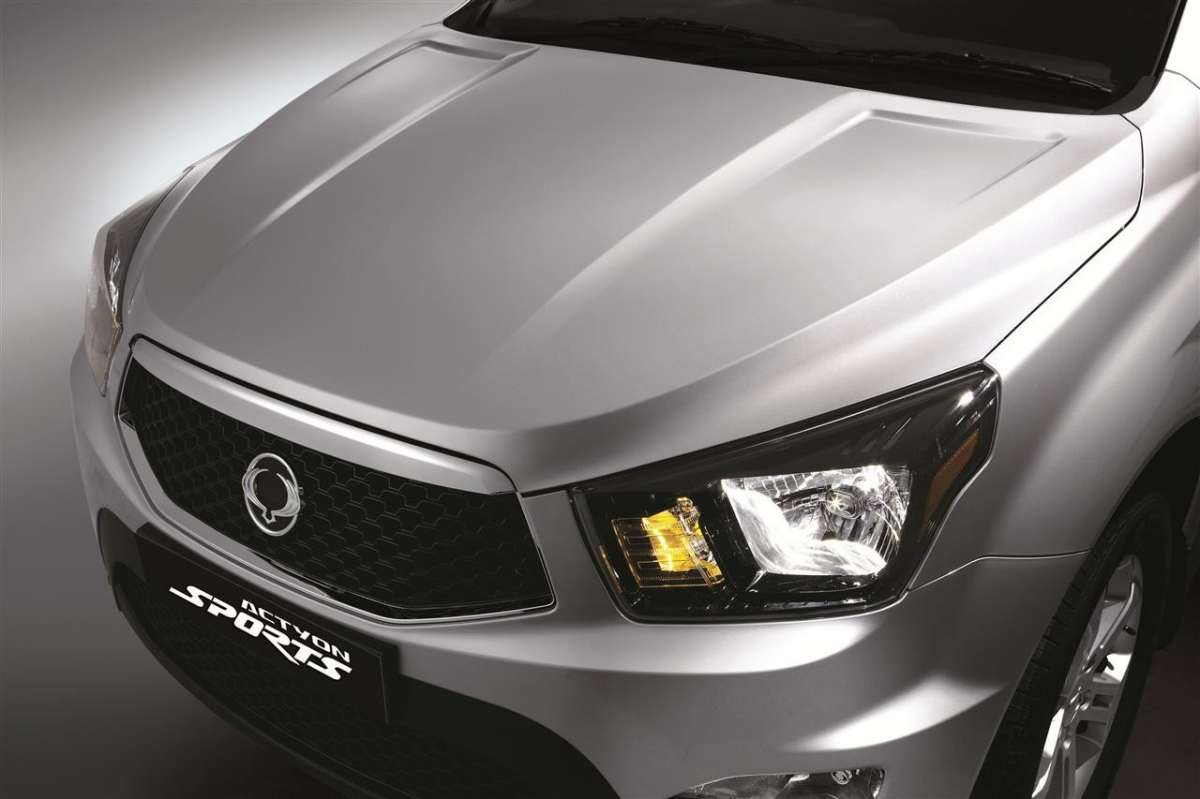 SsangYong Actyon Sports 2012 grigio