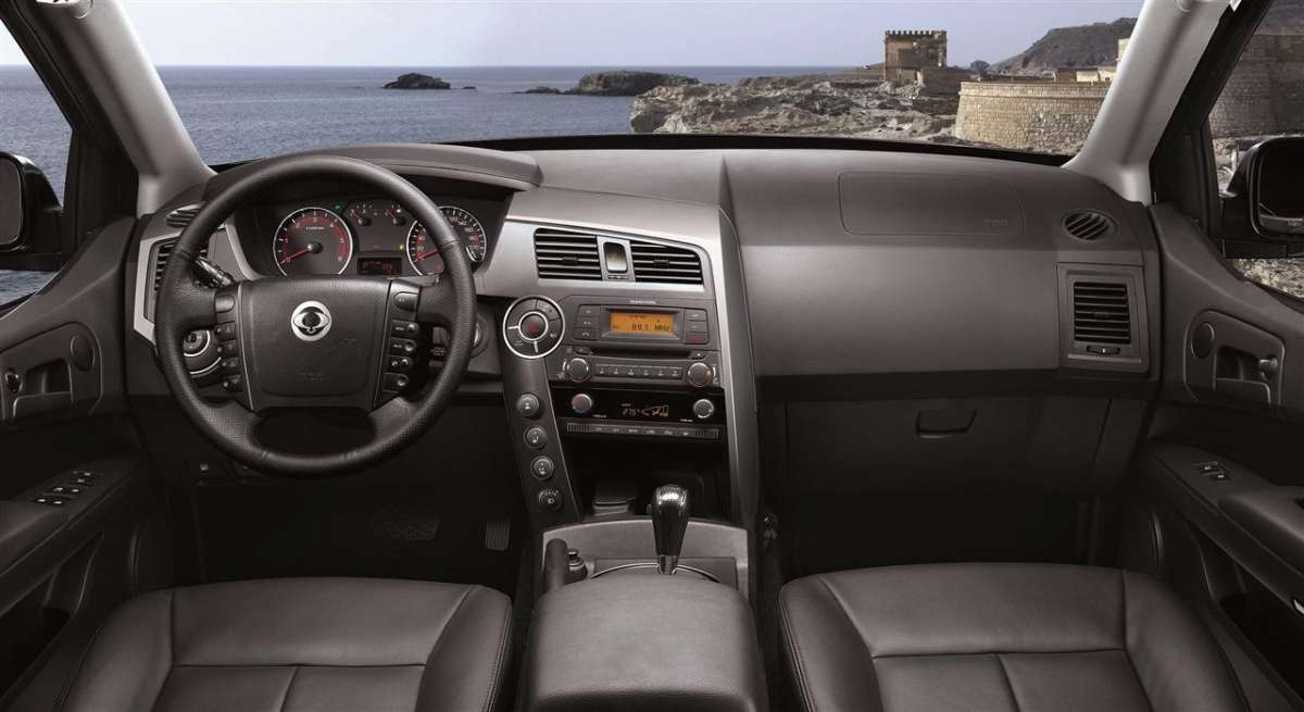 SsangYong Actyon Sports 2012 interni