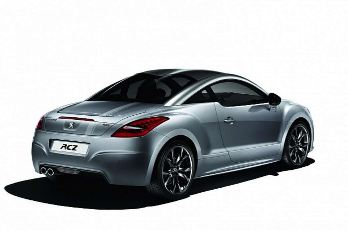 Peugeot RCZ Onyx Limited Edition posteriore