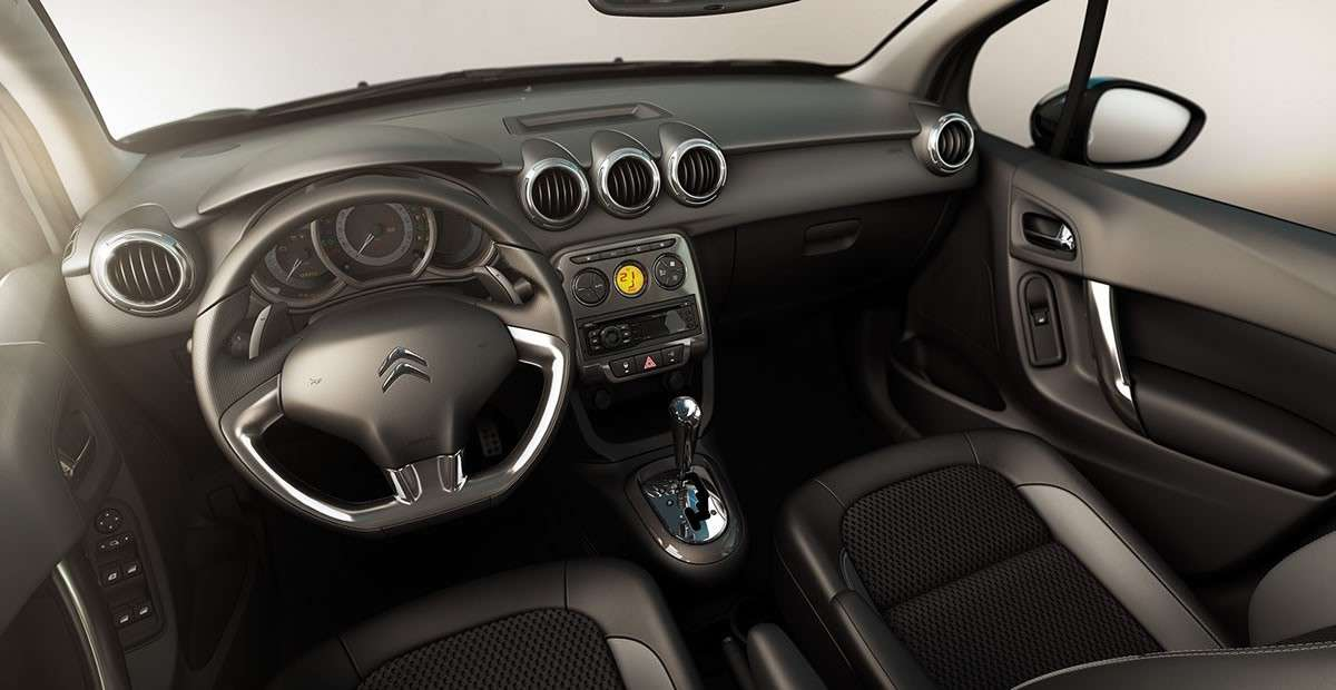 Citroen C3 2012 interni