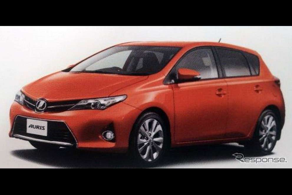 Toyota Auris 2013 frontale