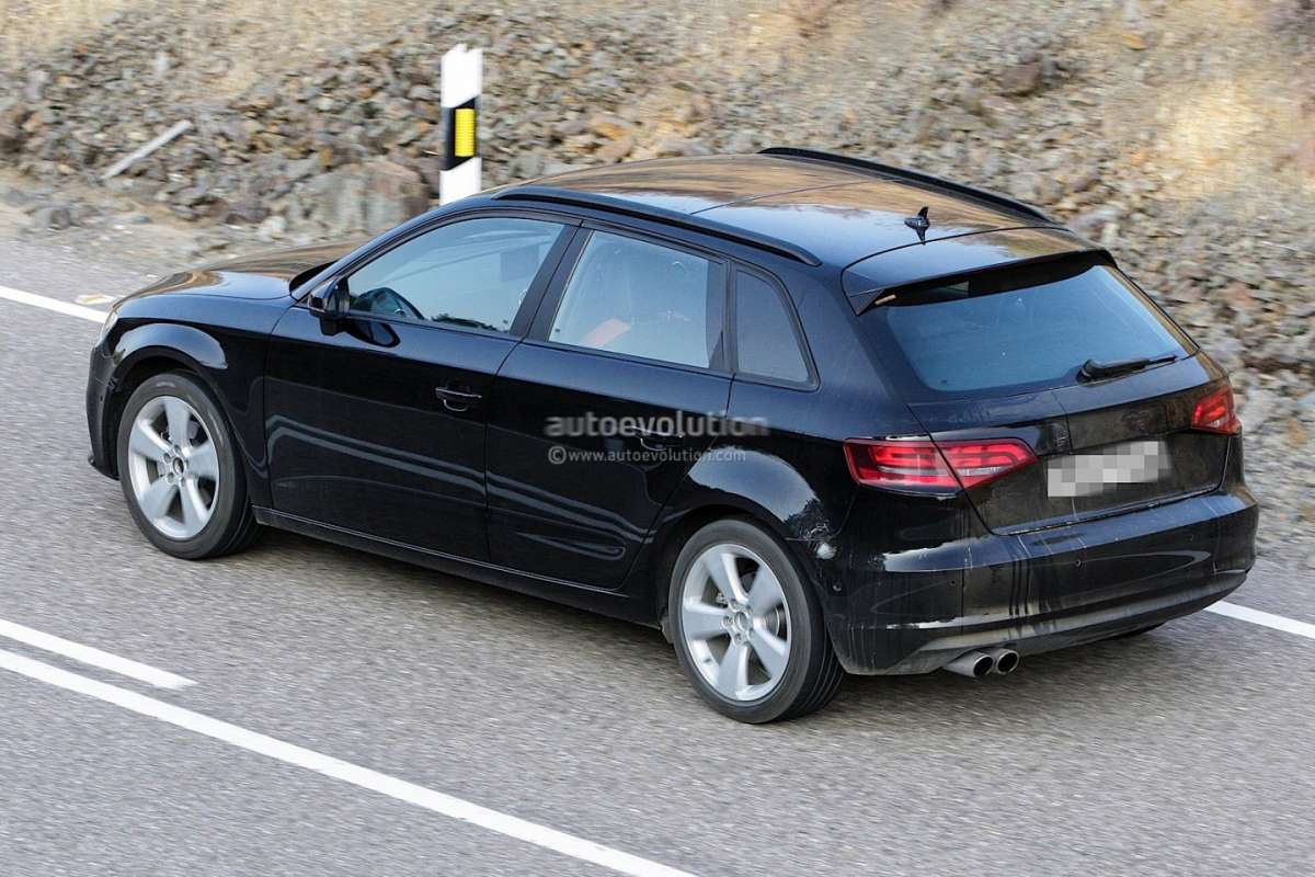 audi a3 sportback 2013 foto spia foto allaguida. Black Bedroom Furniture Sets. Home Design Ideas