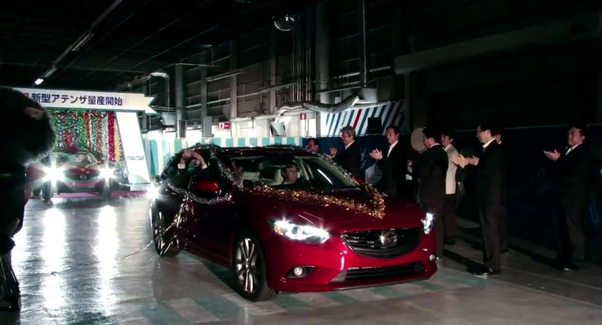 Mazda 6 Station Wagon 2013 frontale