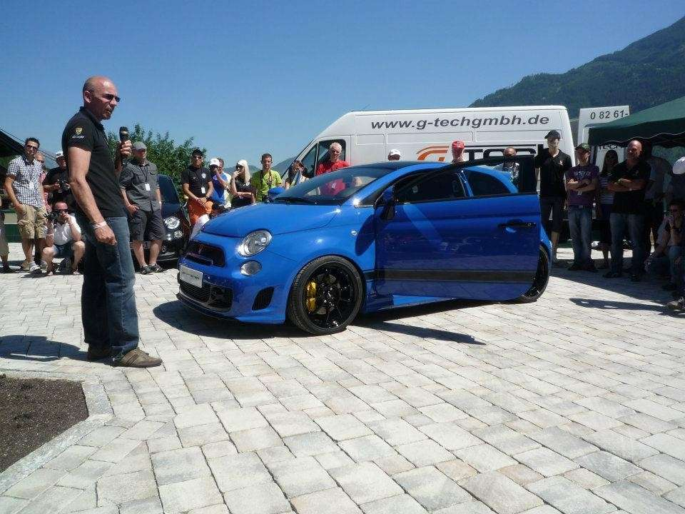 Fiat 500 Sportster by G-Tech dal vivo