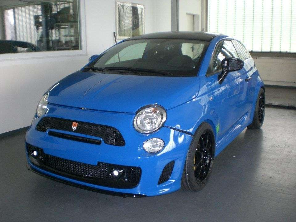Fiat 500 Sportster by G-Tech frontale