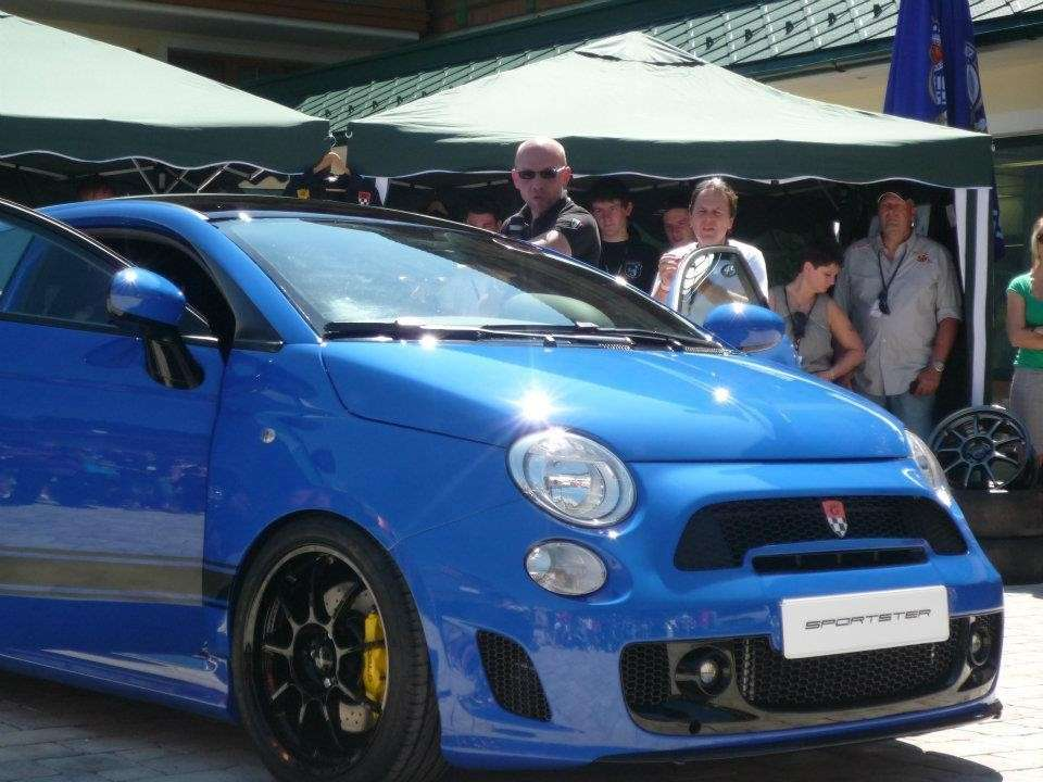 Fiat 500 Sportster by G-Tech muso