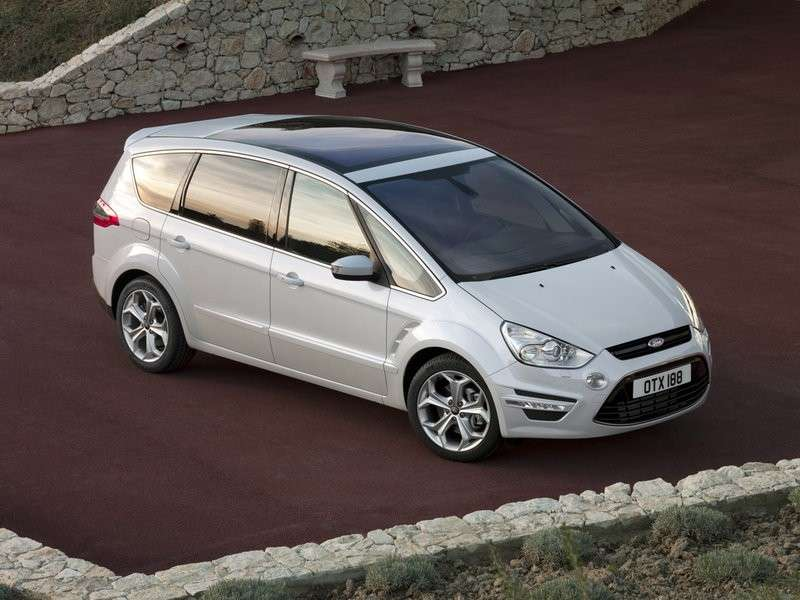 ford s-max business anteriore