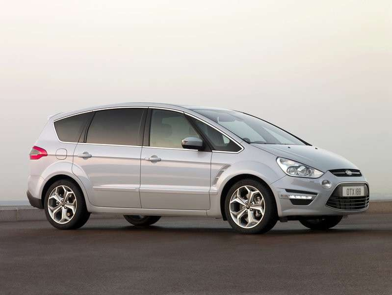 ford s-max business lato anterirore