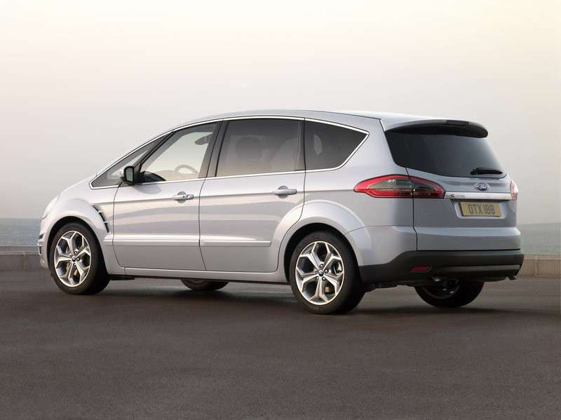 ford s-max business lato posteriore