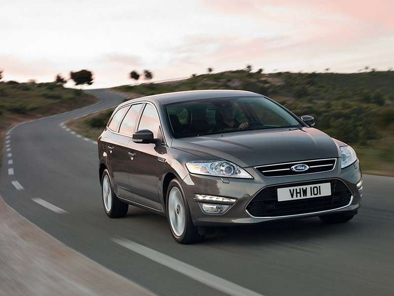 Ford Mondeo Station Wagon 2012, restyling