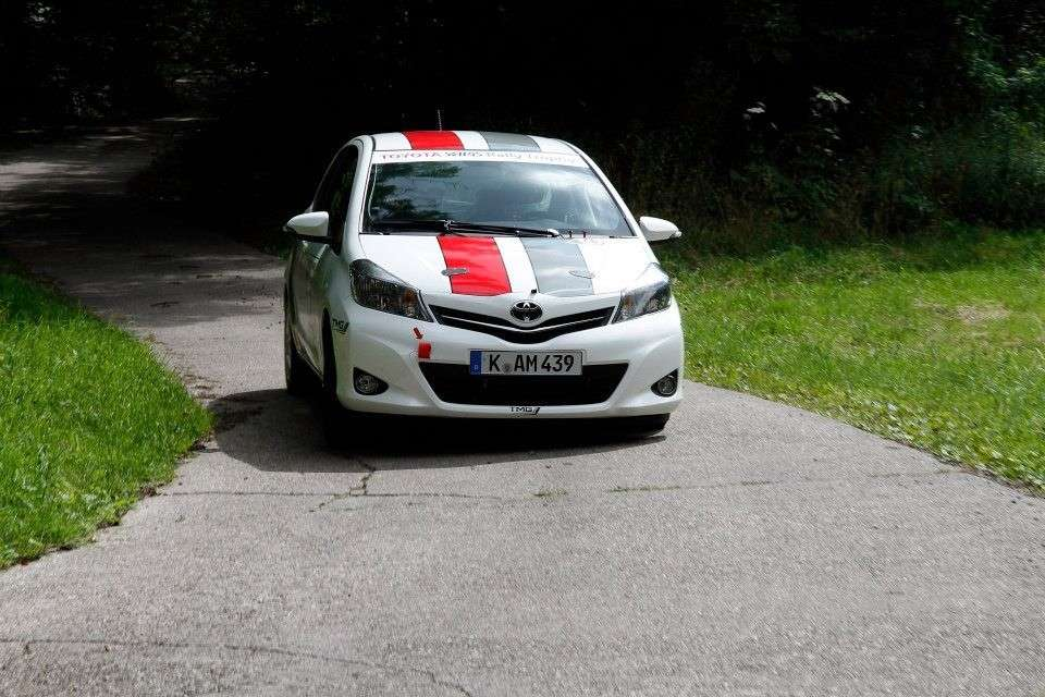 Toyota Yaris R1A - frontale