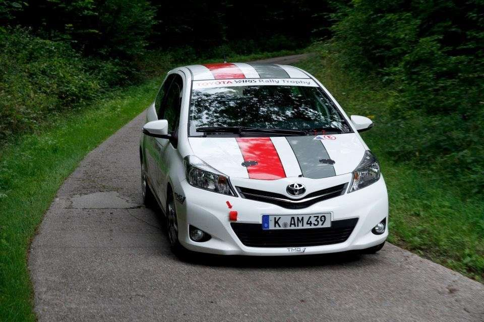 Toyota Yaris R1A - frontale (2)