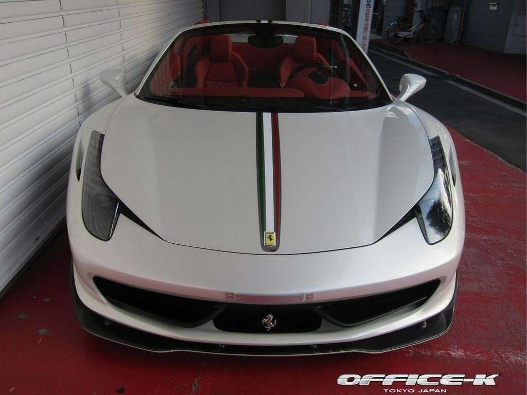 Ferrari 458 Spider tuning by Office-K muso