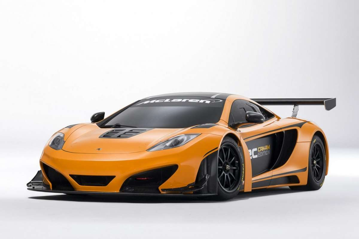 McLaren MP4-12C Can-Am Edition  - frontale