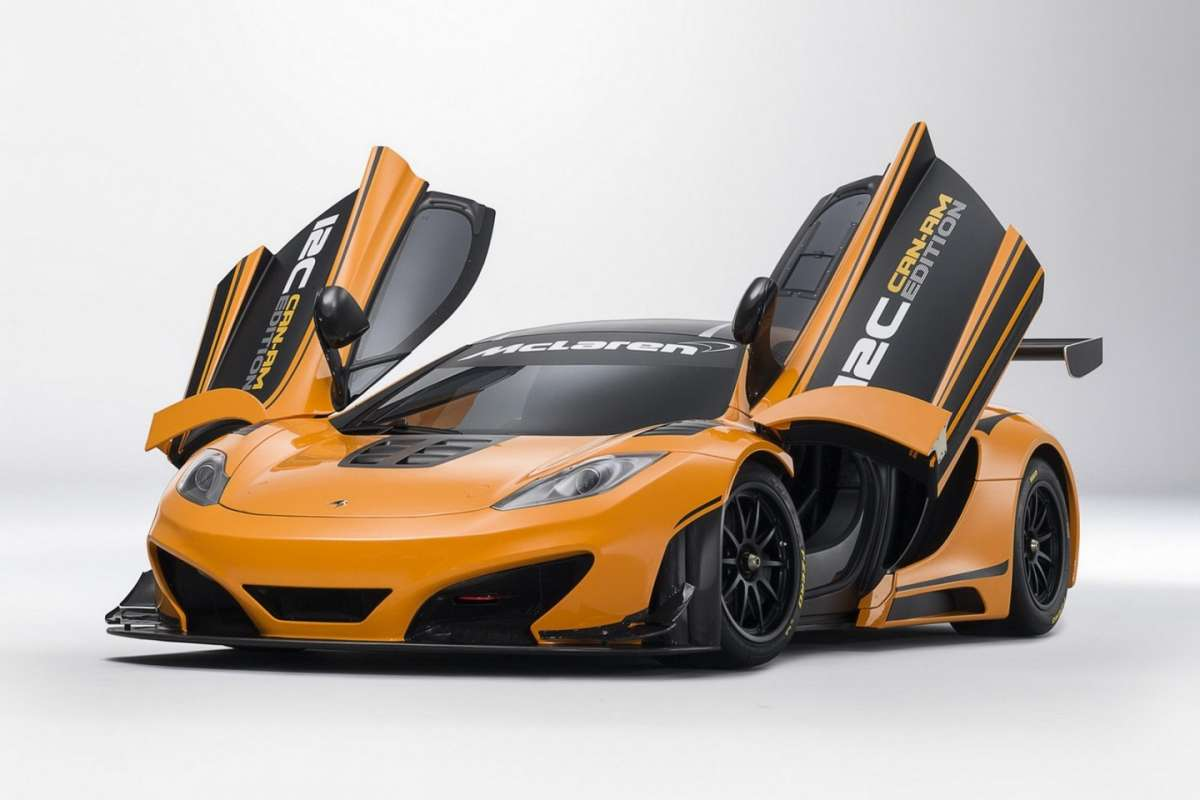 McLaren MP4-12C Can-Am Edition  - frontale porte aperte