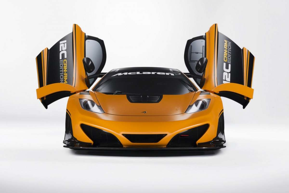 McLaren MP4-12C Can-Am Edition  - muso porte aperte