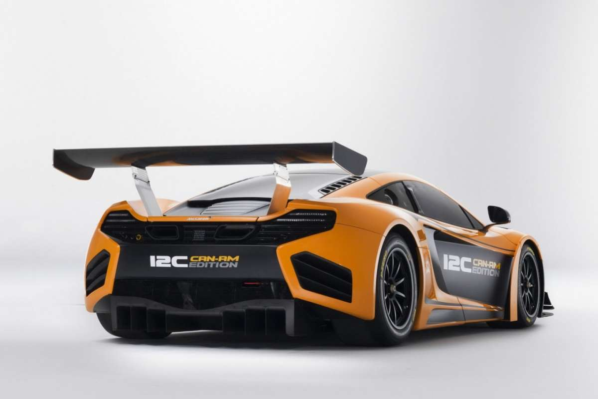 McLaren MP4-12C Can-Am Edition  - posteriore