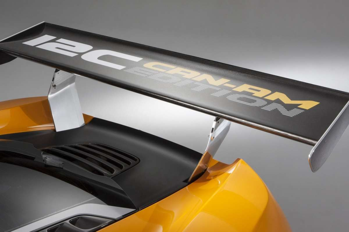 McLaren MP4-12C Can-Am Edition  - alettone